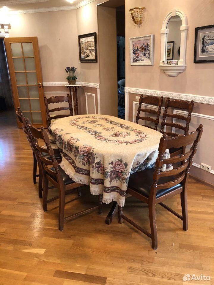 Стол и 6 стульев, Бельгия  89122476125 купить 1